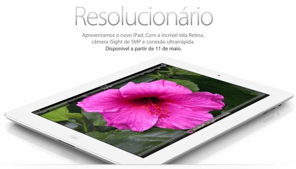 Captura de Tela 2012 05 07 às 16.14.43 610x350 - Novo iPad já aparece na loja brasileira da Apple