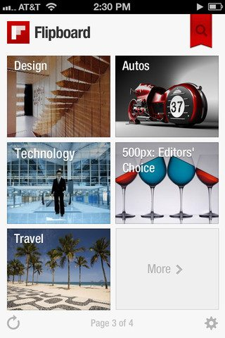 Flipboard for Android  - Flipboard para Android vaza na internet
