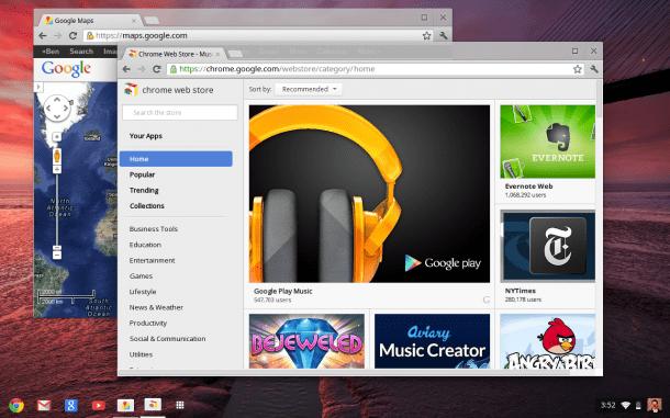 app centric UI 610x381 - Google anuncia atualização de sua linha de Chromebooks