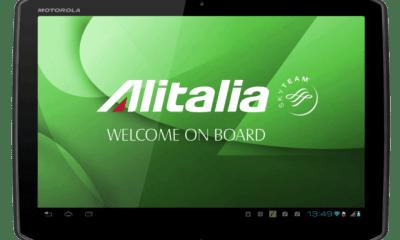 alitalia to provide crew and certain passengers with motorola xoom tablets nt io 0 - Companhia aérea italiana utilizará tablets Android como sistema de entretenimento em vôos