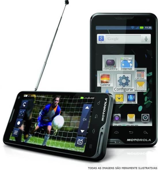 atrix tb 610x659 - Motorola Atrix TV chega ao Brasil