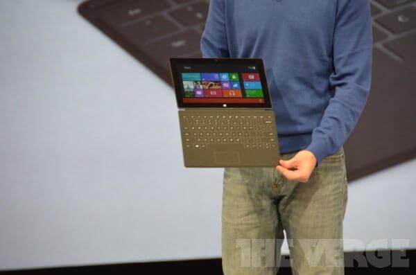 verge lb 930 - Veja detalhes sobre os novos tablets da Microsoft (ao vivo)