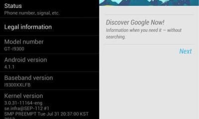 i9300 jb - Vazou: ROM Android 4.1.1 para o Galaxy SIII
