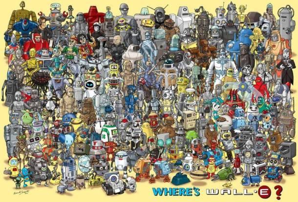 180robots2 610x415 - 10 ótimos Papéis de Parede Geeks para o seu desktop
