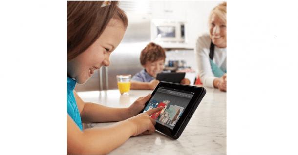 Amazon desafia iPad com novo tablet 6