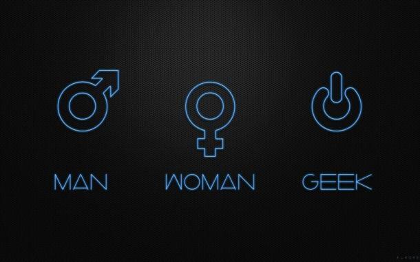 Man Woman Geek 610x381 - 10 ótimos Papéis de Parede Geeks para o seu desktop