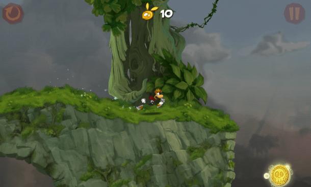 Screenshot 2012 09 27 23 38 14 610x366 - Game Review: Rayman Jungle Run