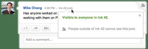 postrestriction - Trazendo o Google+ para o ambiente de trabalho