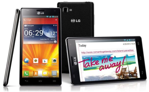 LG Optimus 4x HD grouped original 610x379 - LG lança quad-core Optimus 4X HD no Brasil