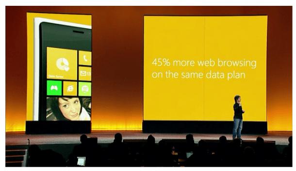 Data Sense Windows Phone 8 610x353 - Windows Phone 8: A Missão