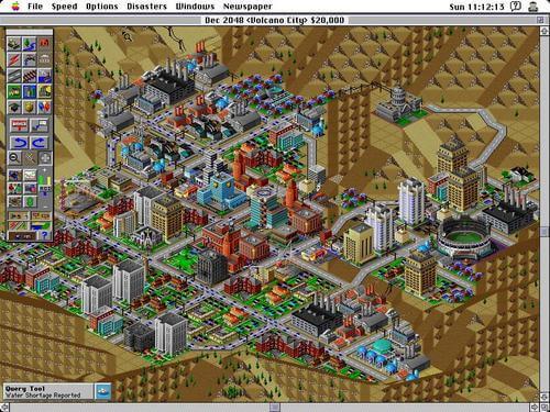 Reprodução: SimCity 2000