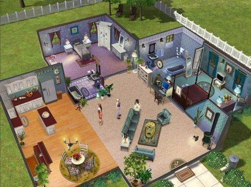 Reprodução: The Sims