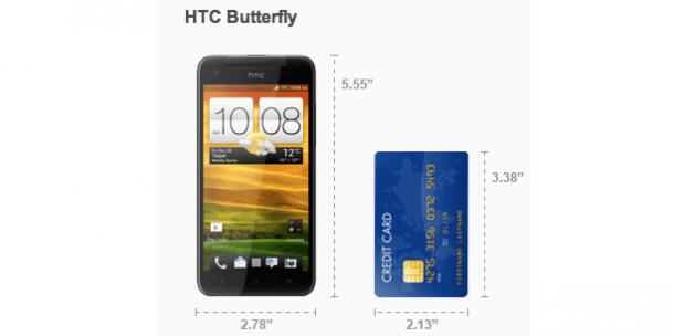 Captura de Tela 2012 12 10 às 00.52.09 610x304 - HTC Butterfly é o nome da versão internacional do smartphone Full HD