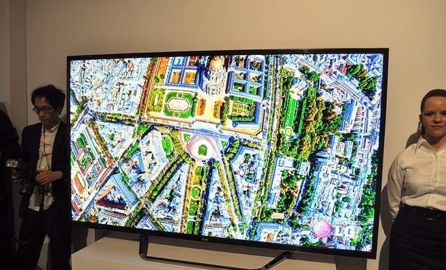 5. TVs 4K da LG de 55 e 65 polegadas com 1080p to 4K upscaling 2 - CES 2013: veja as melhores Smart TVs da Feira