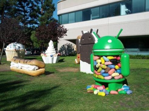 Google-Android-Jardim