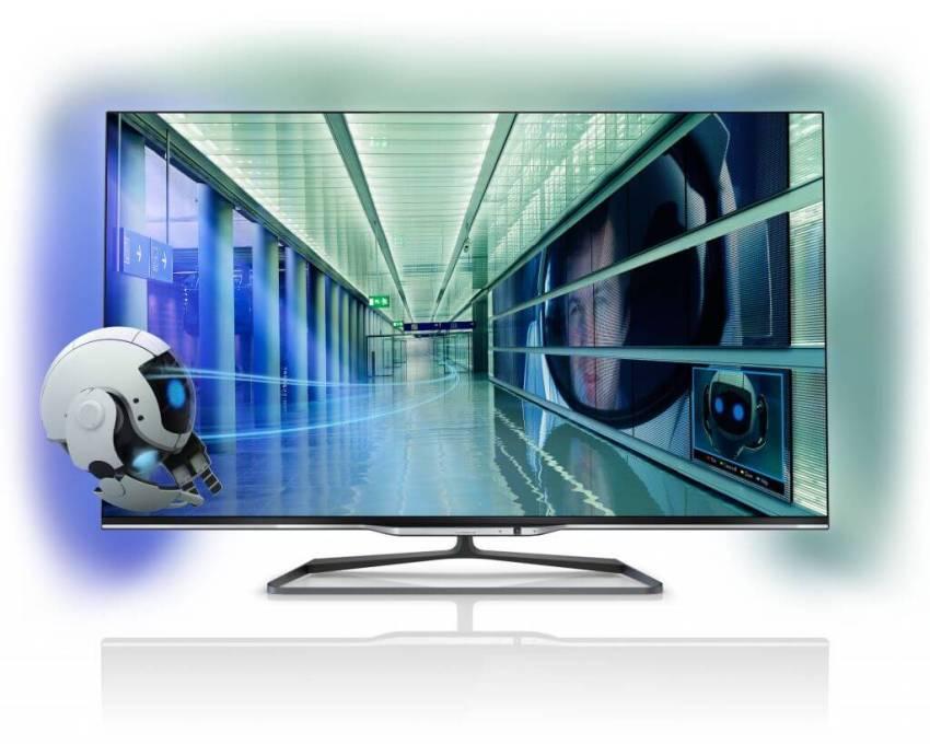 Série 8000 - Philips amplia TV's com sistema ambilight na disputa das Smart TVs