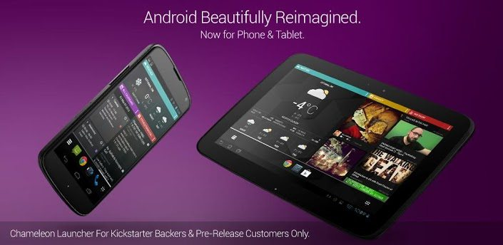 chameleon beta - Launchers para Android: Chameleon 2 beta