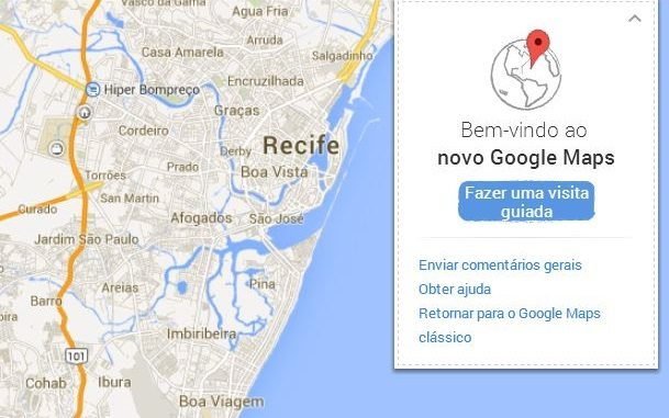 Maps - Preview: Testamos o Novo Google Maps