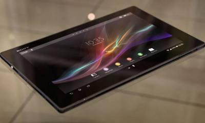 xperia z tablet 1 - Sony lança tablet Xperia Z, dois novos smartphones e Xperia ZQ Branco no Brasil