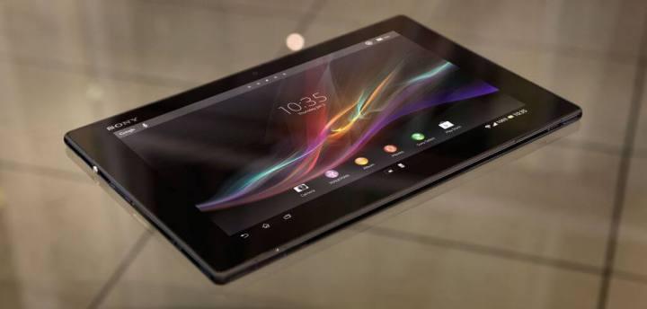 xperia z tablet 1 720x344 - Sony lança tablet Xperia Z, dois novos smartphones e Xperia ZQ Branco no Brasil