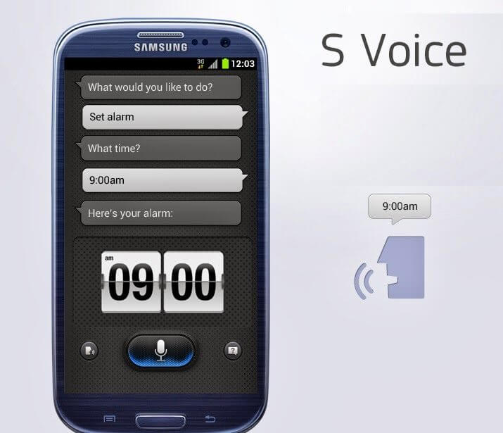how to use s voice on galaxy s3