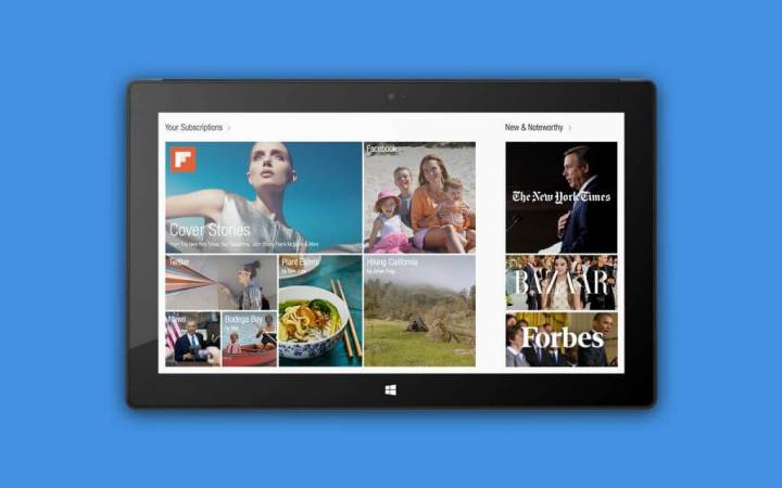 flipboard windows 720x450 - Facebook, Flipboard, Foursquare, entre outros, são anunciados para Windows 8
