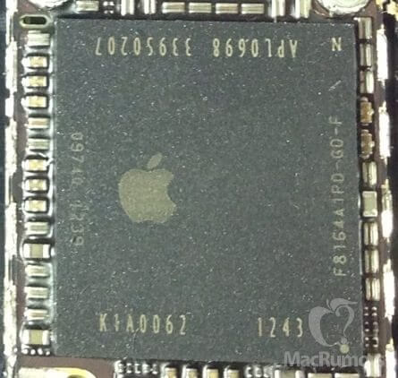 iphone 5S chip - Novos rumores (e fotos) indicam como pode ser o próximo iPhone