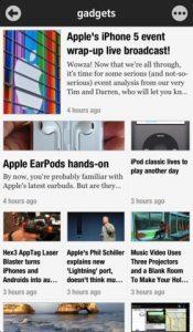 newisfySample01 175x300 - Newsify ganha suporte ao Feedly