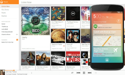 Google Music Android free Play all Access - Tutorial: como baixar músicas no Android
