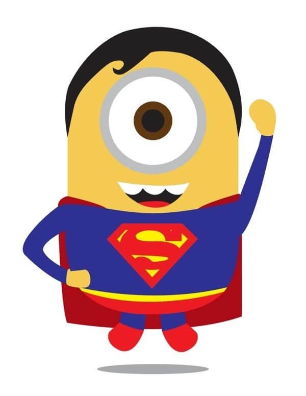 Minion Super Man - Minions ganham versões de super-heróis da Marvel e DC