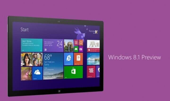 Tutorial Windows 8.1 Preview 720x428 - Windows 8.1: Primeiras Impressões