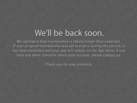 apple-developer-site-down