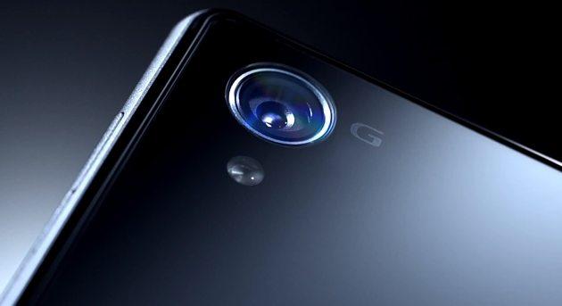 Sony Xperia Z1 Honami lens