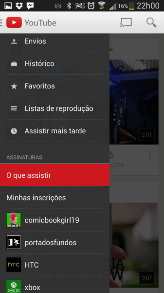 YouTube Android v5.0.21 2