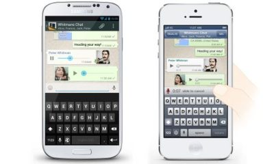 whatsapp ptt - WhatsApp ganha recurso de voz para Android/iOS/BlackBerry e Windows Phone