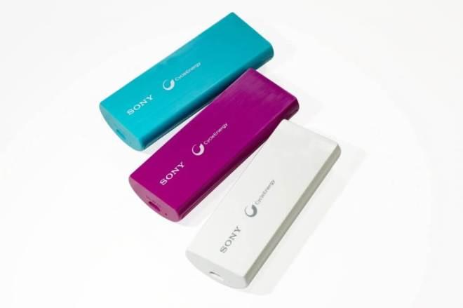Sony lança carregadores portáteis para smartphone