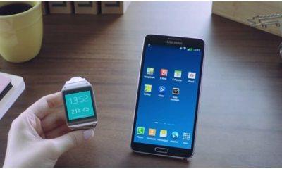 Samsung Galaxy Note 3 Galaxy Gear - Samsung Galaxy Note 3 mostra como será a integração com o Gear
