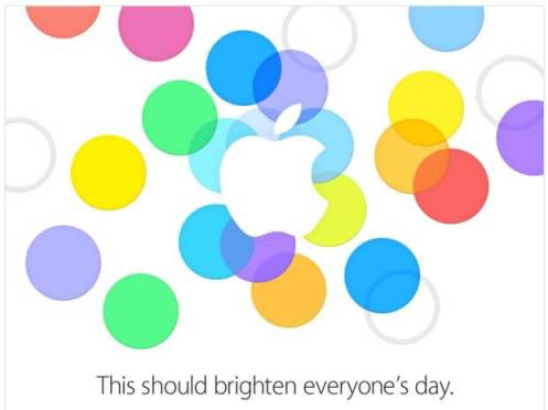 sep 2013 event invite2 - Apple apresenta novos iPhones; SMT acompanha evento em tempo real