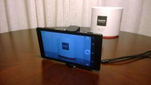 Sony DSC QX10 10 300x168 - Hands-on: Sony DSC-QX10, câmera WiFi para smartphones