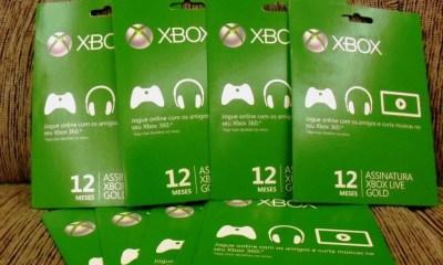 xbox live gold - Xbox Live Gold grátis de 11 a 14 de outubro