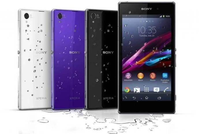 xperia Z1 water 720x487 - Sony reduz preços de Xperia Z1 e Xperia Z Ultra