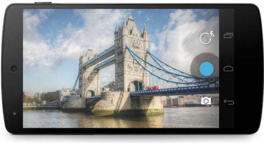 Android datá suporte aos modos de fotografia Burst e RAW