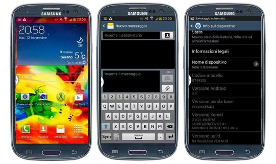 ROM Android S4 Revolution Galaxy SIII GT i9300 S3 - Tutorial: ROM S4 Revolution para o Galaxy SIII (GT-i9300) com Android 4.3 e recursos do S4 e Note 3