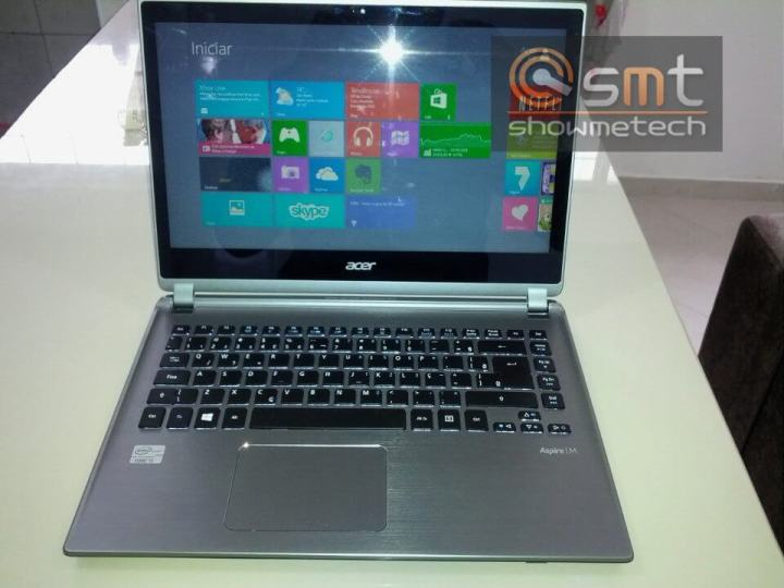 Review Acer M5 Touch -Tela