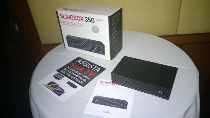 Slingbox 350 chega ao Brasil