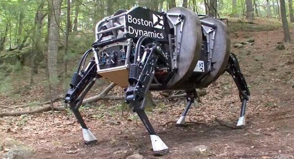 Boston Dynamics Alphadog LS3 - Google adquire a fabricante de robôs Boston Dynamics