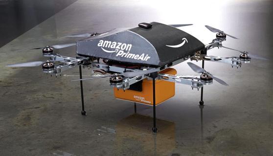 Prime Air, drone que fará entregas para a Amazon