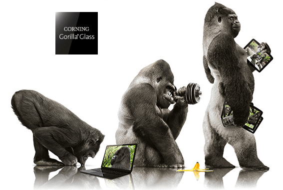 Tela Gorilla Glass agora terá proteção antimicrobiana / reprodução