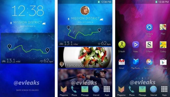 Samsung TouchWiz 2014 720x412 - Imagens da nova interface TouchWiz da Samsung vazam na internet