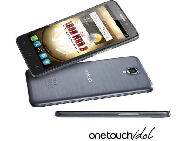 do smartphone - Review: Alcatel One Touch Idol